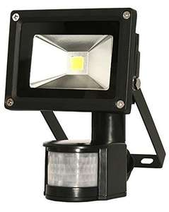 Starmo 10W (100W Equiv) Black PIR LED Floodlight/Security Light - £7.99 Delivered @ Amazon (Dispatched/sold by UK Home & Garden Store Ltd)