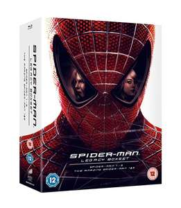 Spider-man Legacy (Box Set with Digital Download (Limited Edition)) [Blu-ray] with code £40.69 @ Zoom
