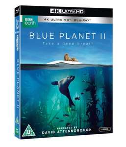 Blue Planet II on 4k UHD and Blu-ray Preorder £20.71 from zoom.co.uk