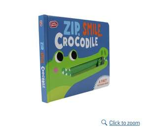 Zip smile crocodile book £1.29 @ Argos