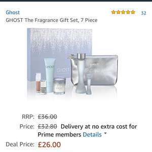Ghost The Fragrance Gift Set at Amazon for £26