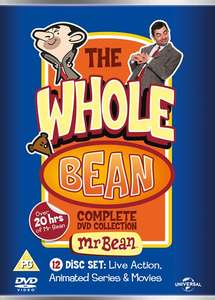 Mr Bean: The Whole Bean - Complete Collection (Box Set) [DVD] @ Zoom - Use Code 'ZSMA25' - £6.90