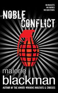 Malorie Blackman Noble Conflict hardback book 50p @ Poundworld!!