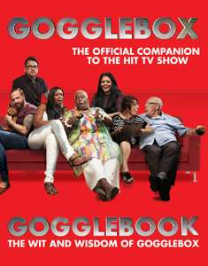 "Gogglebox ""The Wit and Wisdom of Gogglebox"" hardback book 50p @ Poundworld!!"