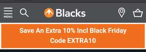 10% off including sale @ Blacks