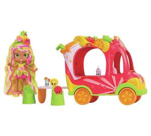 Shopkins Shoppies Juice Bar Truck with Pineapple Lilly Doll at Argos for £11.99