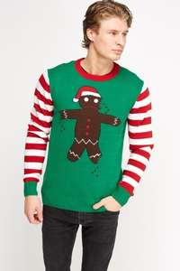 Mens Christmas Jumpers @ Everything5pounds £5.00 + £3.95 postage