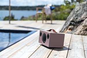 Fab Scandic Portable Bose-Busting Bluetooth Speaker in dirty pink (other colours too) £149.99 @ Amazon / Richer Sounds