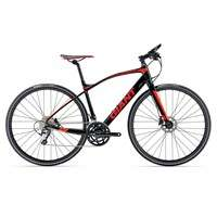Giant FastRoad SLR 1 2017 Hybrid Bike Black £649.99 @ Rutland Cycling