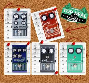 Select DOD Effects Pedals £61 (+£8.84 P&P) @ Thomann International
