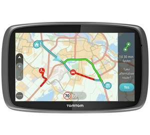 Argos -  £141.99  - TomTom Go 510 5 Inch Traffic Sat Nav World Maps & Case + £10 VOUCHER