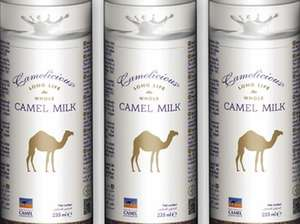Camel Milk is now available £2.85 @ Asda selected stores