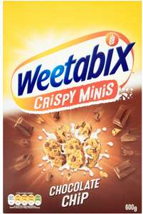 Weetabix Minis Chocolate (600g) was £2.71 now £1.50 @ Morrisons