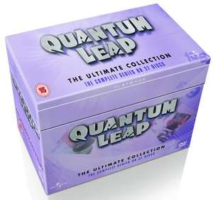 Quantum Leap: The Complete Series 1-5 (Box Set) [DVD] £18.82 @ Zoom