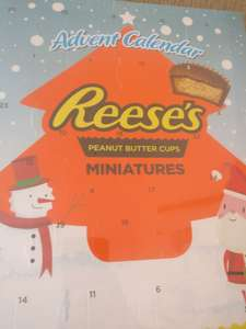 Reese peanut butter advent calendar £4 @ Poundworld