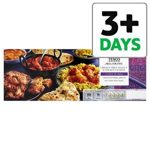 Tesco Indian Chicken Tikka & Chicken Jalfrezi Meal for Two (1.45Kg) was £7.50 now £5.00 @ Tesco