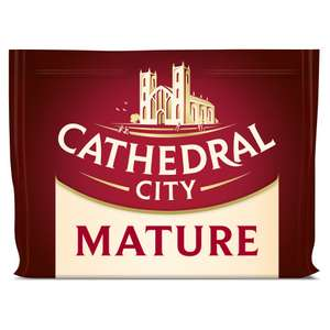 Cathedral City Mature Cheese 350g Now £1.59. (Same price for Extra Mature and Lighter) @ Iceland