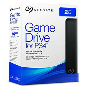Seagate 2TB Game Drive USB 3.0 Portable 2.5-inch External Hard Drive for PlayStation 4 £74.99 @ Amazon