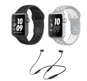 Apple Watch S3 Nike+, GPS, 42mm Space Grey or Silver / White (£309) with BEATS BY DR DRE Beats X Wireless Headphones (£387) @ CurrysPCworld​
