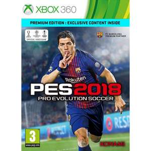 PES 2018 - PREMIUM EDITION XBOX 360 @ The game collection - £23.95