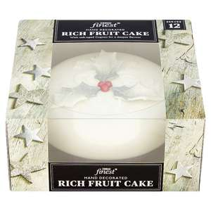Tesco Finest Rich Fruit Christmas cake 907g and finest Christmas pudding 907g was £10.00  now £6.67 save 1/3rd @ Tesco