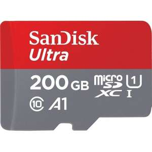 SANDISK ULTRA MICROSDXC 200GB KIT, 100MB/S, UHS-I A1/CLASS 10 / BLACK FRIDAY LIMITED TIME SALE £60.41 @ Play-asia