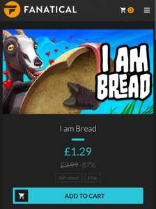 I am Bread - (PC - Steam) - £1.29 at Fanatical