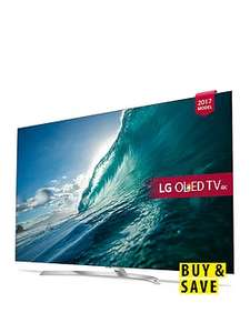 LG OLED55B7V 55 inch, 4K Ultra HD Premium HDR, Smart OLED TV £1223.10 with codes @ Very