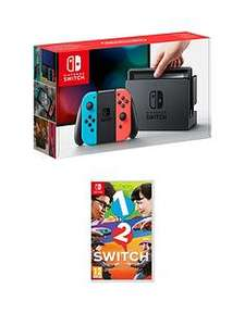 very £50 off consoles plus buy now pay in 12 month e.g nintendo switch £269 with a game @ Very