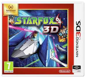 StarFox 3D - Nintendo 3DS - only £10.45 @ Argos (Ebay Outlet) - free delivery