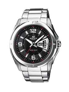 Casio Edifice Men's Analogue Quartz Watch with Stainless Steel Bracelet – EF-129D Was £70.05 now £56.43 @ Amazon