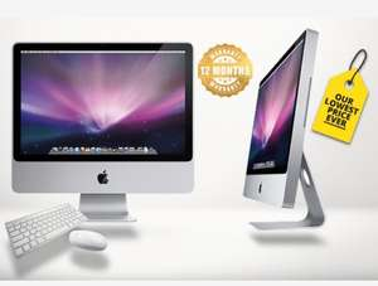 "Grade B-refurbished 250GB Apple iMac 20"" with Wireless Keyboard & Mouse - 12 Month Warranty £279 @ Wowcher"