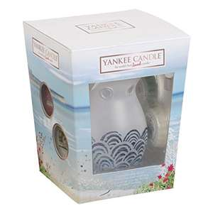 Yankee Candle Coastal living Melt Warmer & 3 Wax Melt Gift Set £9.89 Prime (£13.88 non-Prime) @ Amazon.co.uk