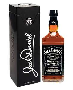 1.75 LITRE JACK DANIEL'S OLD NO.7 IN GIFT TIN @ Jack Daniels Store £38.62 (£4.99 delivery if spending under £65)