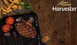 Harvester Meal For Two -  steak, ribs or chicken meal + chips + unlimited salad + drink = £10 with code @ Groupon (selected accounts)