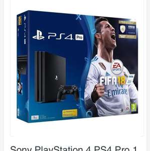 PS4 Pro Fifa '18 bundle £246 @ UK Dapper