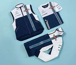 70% Off Sitewide @ Williams Martini Racing F1 Shop, £13.20 Mens Polo, £12 T-Shirt, £10.50 Umbrella + More!