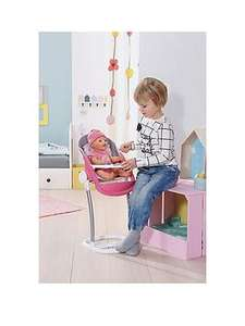 Baby Born Highchair £20.39 @ Very