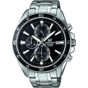 *price glitch * Casio Mens Edifice Silver Steel Chronograph Watch EFR-546D-1AVUEF £59 @ Watches 2 U