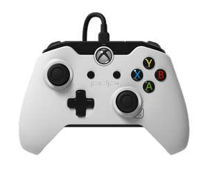 PDP Wired Controller for Xbox One and Windows - White £19.85 @ ShopTo