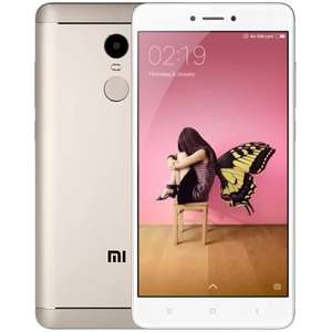 Cheapest GOLDEN 4GB RAM 64GB - Xiaomi Redmi Note 4 5.5 inch 4G Smartphone - ROM Global Version for £122.25 with code @ GearBest