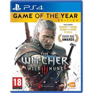 The Witcher 3 Game of the Year Edition (PS4) £18.99 Delivered (Using Code) @ Mymemory