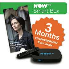 NOW TV Smart Box + 3 Month Sky Entertainment Voucher + £5.49 Sky Store Voucher @ QVC (Delivered with new customer code 'FIVE4U') - £15.95 (£20.95 for existing customers)