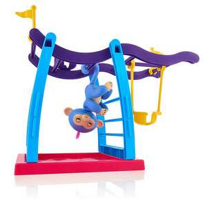 fingerling monkey bar and swing playset - £29.99 @ Toys r Us