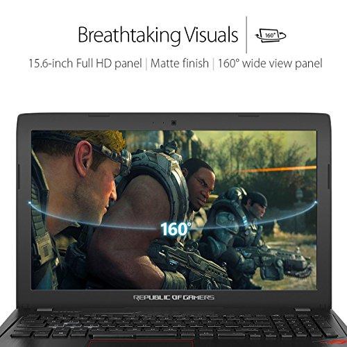 ASUS ROG - Intel i7-7700HQ Processor, 8GB RAM, Nvidia GTX 1050Ti 4GB Dedicated Graphics, 1TB HDD + 128GB SSD, Full RGB Keyboard, Windows 10 - £919.99 @ Amazon