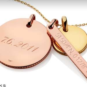 15% off engraved gifts @ Links of London