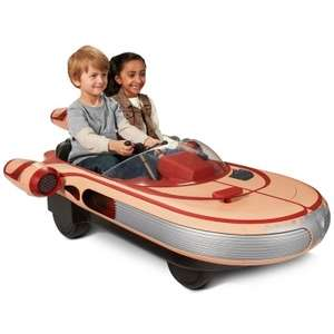 Star Wars Luke Skywalker 12V Landspeeder (was £499.99) then £319.98 NOW £299.96! delivered at Toys R Us