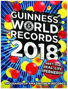 Guinness World Records 2018  £8.99 prime / £11.98 non prime @ Amazon