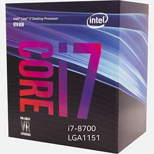 Intel 8700 (non-K) at Amazon for £269.34