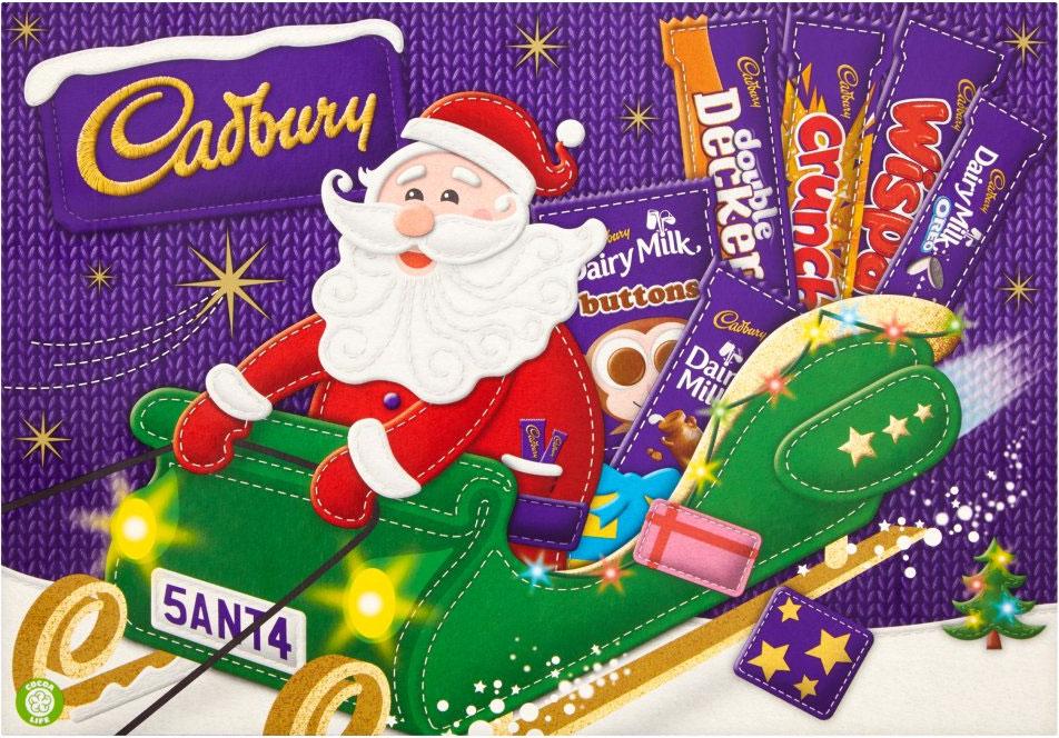 Cadbury Medium Santa Selection Box (169g) ONLY £1.00 @ Co-op Food Stores